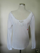 *New* 100% Cotton Elegant ESPRIT Ladies White Top Size US - S, (I and F - M)