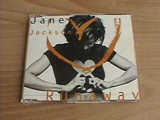 JANET JACKSON - RUNAWAY (RARE DELETED CD SINGLE)