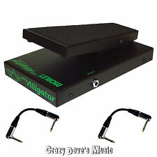 Morley Steve Vai Little Alligator Volume Pedal PLA NEW With 2 Patch Cables