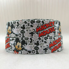 "Mickey Mouse Ribbon 1"" Wide NEW UK SELLER FREE P&P"