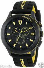Ferrari Men's 0830138 Scuderia XX Analog Display Quartz Black Yellow Watch