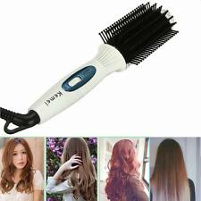 3 in 1 Waver Curling Straightener Styling Electric Hair Curler Roller Comb Tools