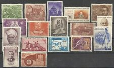 1967 India Stamps complete year set  MNH StampsTaj Mahal Scouts