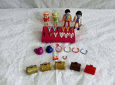 Playmobil Jewelry Store Shop Stand 5346 with extras  - Very Rare