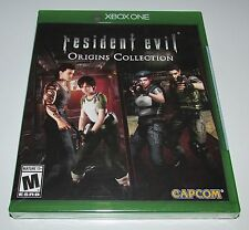 Resident Evil Origins Collection for Xbox One Brand New! Factory Sealed!