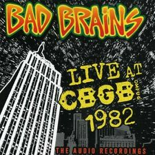 Live Cbgb 1982 - Bad Brains (2006, CD NIEUW)