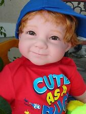 "Reborn 22"" Toddler Boy Doll ""Logan""--Bug Safari"