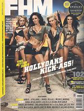 NEW! FHM Magazine UK BRITISH September 2010 HOLLYOAKS Stallone SEALED