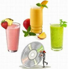 126 Smoothie + 1000 Low CARB Recipes 2 Cookbooks on CD