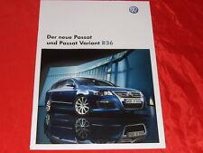 VW Passat R36 + Passat Variant R36 Prospekt von 2008