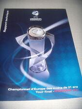 ALMANACCO U.E.F.A. UFFICIALE CAMPIONATI EUROPEI 2011 CALCIO UNDER 21