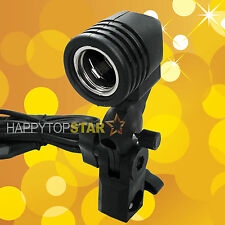 Photo Video Light Lamp Bulb Holder E27 Socket Umbrella Bracket Studio Tube CFL