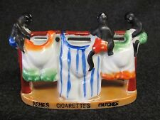 Vintage BLACK AMERICANA Ashes Cigarettes Matches Ceramic Figurine Japan (AB922)