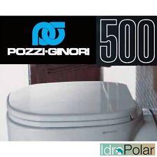 COPRI WATER WC ASSE SEDILE SERIE 500 ORIGINALE POZZI GINORI CODICE 41761 NUOVO