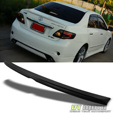 2009-10 Toyota Corolla JDM Style Sport Rear ABS Lid Trunk Primered Spoiler Wing