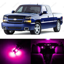 13 x Pink/Purple LED Interior Light Package For 1999 - 2006 Chevy Silverado