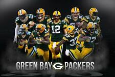 NFL Green Bay Packers Team Poster Superbowl Banner 2015 Aaron Rodgers