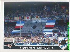 410 SUPPORTERS ITALIA SAMPDORIA STICKER CALCIATORI 2005 PANINI