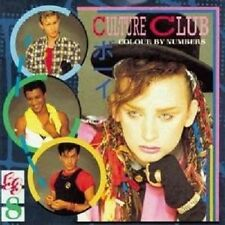 "CULTURE CLUB ""COLOUR BY NUMBERS"" CD NEUWARE"