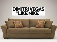"DIMITRI VEGAS & LIKE MIKE MOSAIC TILE 48""X16"" WALL POSTER DANCE BIG ROOM HOUSE"