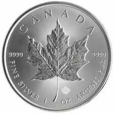 2017 Canadian 1 oz .9999 Silver Maple Leaf Round PRE-SALE Bullion RCM BU Coin
