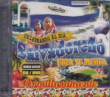 La Fuerza Band Grupo Melao Salvadoreno Goza Tu Musica CD+DVD New Sealed