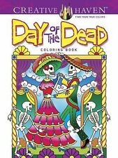 Creative Haven Day Of The Dead Coloring Book Adult  Coloring Book