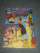 """AMAZING """"SPOOF"""" HEROES SWIMSUIT ISSUE No.4 Bagged with Cards Adam Hughes Cover"""