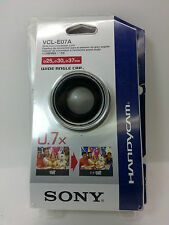 SONY HANDYCAM VCL-E07A WIDE END CONVERSION LENS 0.7X for miniDV Hi8 camcorder