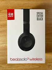 Beats by Dr. Dre Solo3 Wireless Headband Headphones - Special Black Edition