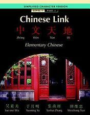 Chinese Link Simplified Level 1/Part 1 by Wu, Sue-mei, Yu, Yueming, Zhang, Yanh