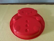 Tupperware Silikon Schneemann Backform