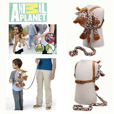 2in1 Animal Planet Giraffe Backpack Walk Help Keeper Safety Anti-lost Harness