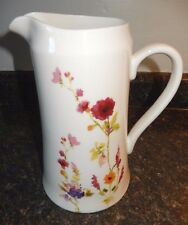222 Fifth Thea 64 Ounce Pitcher~EXC~Just Beautiful Bone China Pitcher~Fast Ship!