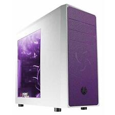 BitFenix Computer Case BFC-NEO-100-WWWKP-RP White and Purple New