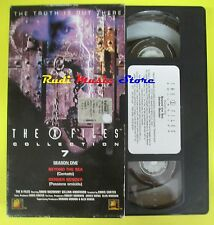film VHS cartonata THE X FILES COLLECTION 7 Beyond the sea Gender (F44) no dvd