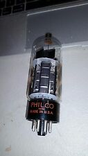 PHILCO NOS 6CL5 Beam Tetrode  With 4 side getters. Guaranteed  Box trashed.