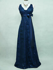 Cherlone Plus Size Blue Ballgown Wedding Evening Formal Bridesmaid Dress 24-26