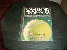 1988 CA Tennis Trophy Tennis Program Vienna Austria
