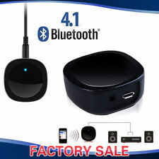 Mini Bluetooth V4.1 A2DP Audio Music Receiver w/ Aux Out Car Home Stereo Speaker