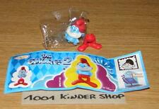 KINDER FT120 FT 120 GRAND SCHTROUMPF PAPA SCHLUMPF SMURF 2 + BPZ NEUTRAL