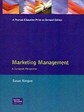 Marketing Management: A European Perspective, Norgan, Susan, Used; Good Book