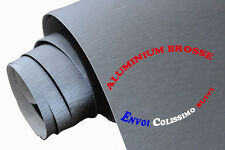152 x 150 cm FILM VINYLE ALU BROSSE THERMOFORMABLE CAR WRAP TUNING DISCOUNT