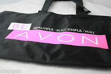 New! Be Avon Large Tote Bag Purse Shopping Rep with Inside Pockets