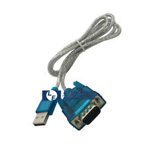 New USB 2.0 to DB9 9 Pin RS232 Serial Connector Adapter Cable for Windows XP 7 8