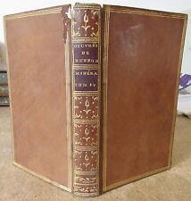 BUFFON HISTOIRE NATURELLE DES MINERAUX 1784 TOME 4 LE FER & L'OR MINERALOGIE