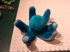 Stuffed OCTOPUS Toy from Top Bloom usa unused but has light storage spot BLUE WH