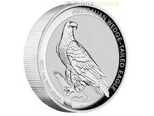 1 $ Dollar Wedge Tailed Eagle High Relief Australien 2017 1 oz Unze Silber PP