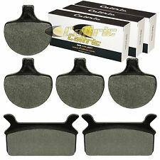 FRONT REAR BRAKE PADS FIT HARLEY DAVIDSON FLHTC ELECTRA GLIDE CLASSIC 1984-1999