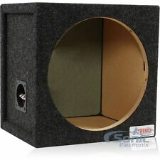 """Atrend 12SQ 12"""" Single Small Pro Series Sealed Subwoofer Enclosure Box"""